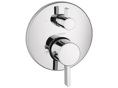 Ecostat Chrome Thermostatic Trim with Volume Control and Diverter HG04231000