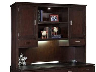 Hekman Office Mocha Two-Drawer / Two Door Executive Deck HK79182