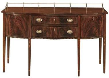 Henkel Harris 66 x 26 Buffet Table with Gallery HH2367A