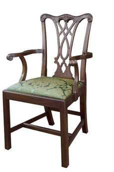 Henkel Harris Chippendale Arm Chair HH107A