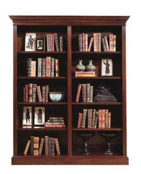 Henkel Harris Four Shelf Double Bookcase HHHHBC64
