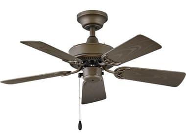 Hinkley Lighting Cabana Metallic Matte Bronze 36'' Wide Indoor / Outdoor Ceiling Fan HY901836FMMNWA