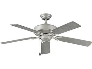 Hinkley Lighting Oasis Brushed Nickel 52'' Wide Indoor / Outdoor Ceiling Fan with Silver Blades HY901652FBNNWA