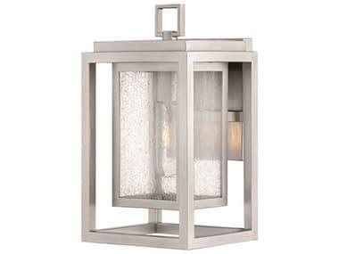 Hinkley Lighting Republic Satin Nickel 7'' Wide Outdoor Wall Light HY1000SI