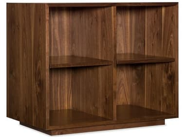 Hooker Furniture Medium Wood Elon Bunching Short Bookcase HOO165010245MWD