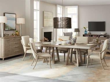 Hooker Furniture Affinity Dining Room Set HOO605075206GRYSET