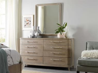 Hooker Furniture Affinity Double Dresser with Mirror HOO605090002GRYSET