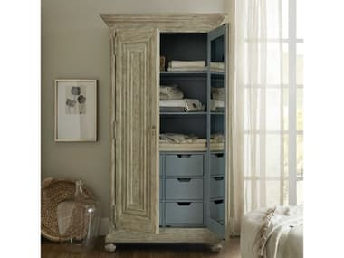 Hooker Furniture Alfresco Light Tusk Wardrobe Armoire HOO60259001380