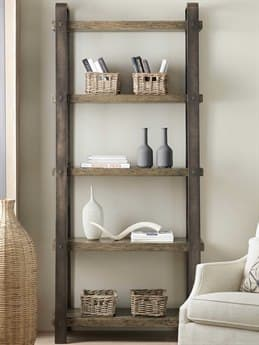 Hooker Furniture American Life - Crafted Dark Wood Bookcase HOO165410445MTL