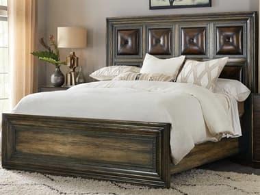 Hooker Furniture American Life - Crafted Dark Wood California King Panel Bed HOO165490260DKW1