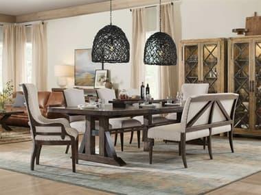 Hooker Furniture American Life - Roslyn County Dining Room Set HOO161875207DKWSET