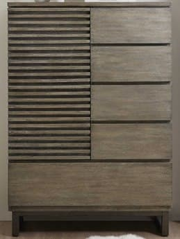 Hooker Furniture Annex Gray Five-Drawers Asymmetrical Chest HOO57609001180