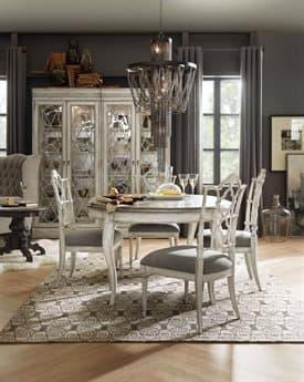 Hooker Furniture Arabella Dining Room Set HOO161075203WHSET