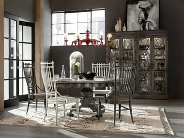 Hooker Furniture Arabella Dining Room Set HOO161075211GRYSET