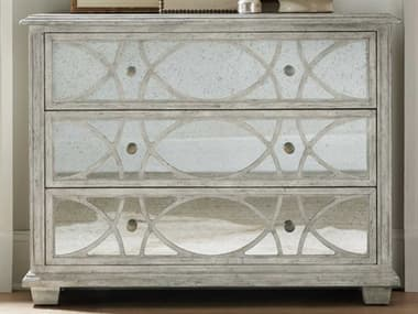 Hooker Furniture Boheme Antique Gray White Accent Chest HOO575050002LTWD
