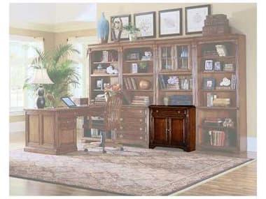 Hooker Furniture Brookhaven Distressed Medium Cherry 32''L x 23''W Rectangular Computer Desk HOO28110410