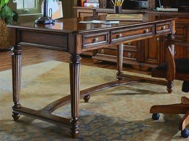 Hooker Furniture Brookhaven Distressed Medium Cherry 60''L x 30''W Rectangular Writing Desk HOO28110458
