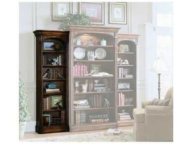 Hooker Furniture Brookhaven Distressed Medium Cherry Left Bookcase HOO28110541