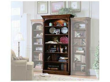 Hooker Furniture Brookhaven Distressed Medium Cherry Open Bookcase HOO28110545