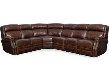 Hooker Furniture Carlisle Four-Piece Power Sectional Sofa HOOSS460PS188
