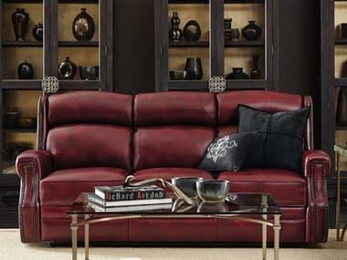 Hooker Furniture Carlisle Red Power Motion Sofa with Power Headrest HOOSS460P3165