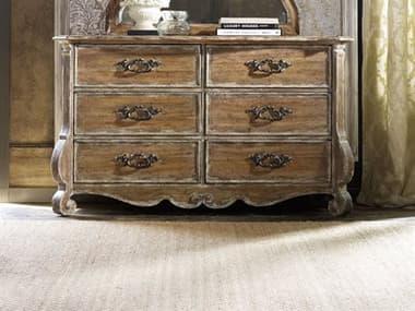 Hooker Furniture Chatelet Pecky Pecan Six-Drawers Double Dresser HOO530090001