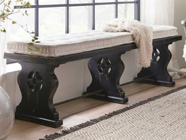 Hooker Furniture Ciao Bella Tuscan White / Black Accent Bench HOO58059001999