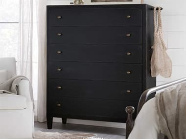Hooker Furniture Ciao Bella Black Six-Drawer Chest of Drawers HOO58059001099