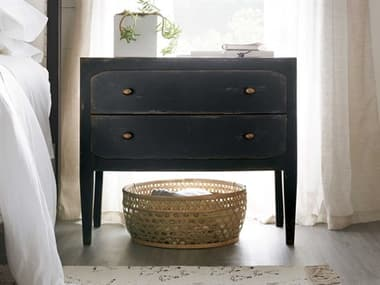 Hooker Furniture Ciao Bella Black Two-Drawer Nightstand HOO58059001699