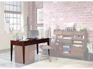 Hooker Furniture Danforth Rich Medium Brown 60''L x 26''W Rectangular Executive Desk HOO38810458