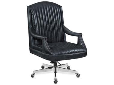 Hooker Furniture Rock & Roll Oldham / Chrome Claybrook Executive Swivel Tilt Chair HOOEC568048