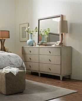 Hooker Furniture Elixir Double Dresser with Wall Mirror Set HOO599090002LTWDSET