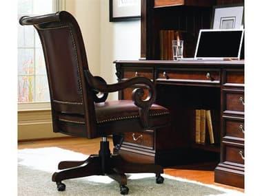 Hooker Furniture European Renaissance II Dark Rich Brown Executive Swivel Chair HOO37430220