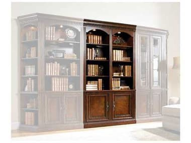 Hooker Furniture European Renaissance Ii Dark, Rich Brown Finish With Some Physical Distressing Bookcase HOO37410448