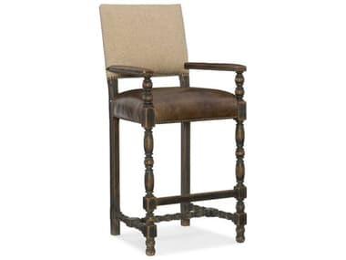 Hooker Furniture Hill Country Black Comfort Bar Stool HOO596020360BLK