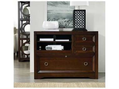 Hooker Furniture Kinsey Dark Wood Utility File Cabinet HOO506610413