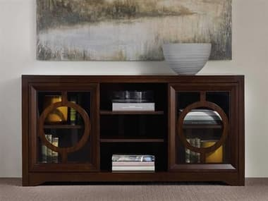Hooker Furniture Kinsey Dark Wood 60''L x 20''W Rectangular Entertainment Console HOO506655402
