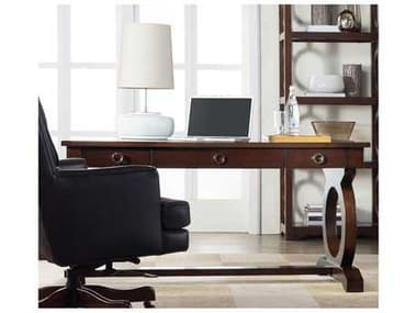Hooker Furniture Kinsey Dark Wood 60''L x 30''W Rectangular Writing Desk HOO506610458