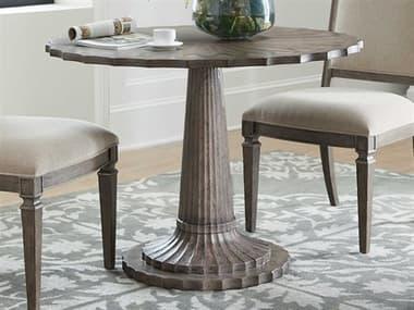 Hooker Furniture Woodlands Medium Wood 42'' Wide Round Adjustable Dining Table HOO58207520284