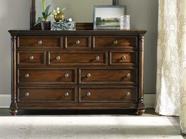 Hooker Furniture Leesburg Dark Wood 10-Drawers Double Dresser HOO538190002