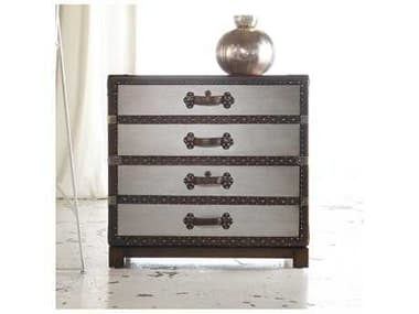 Hooker Furniture Melange Faux Zinc Bondurant Lateral File Cabinet HOO63810003