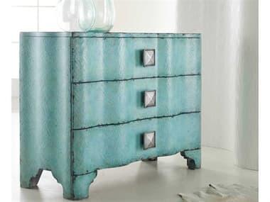 Hooker Furniture Melange Turquoise Crackle 44''W x 18''D Accent Chest HOO63885016