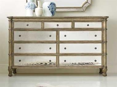 Hooker Furniture Melange Gold Nine-Drawers Double Dresser HOO63890902