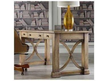 Hooker Furniture Melange Light Wood 60''L x 30''W Rectangular Architectural Writing Desk HOO63810005