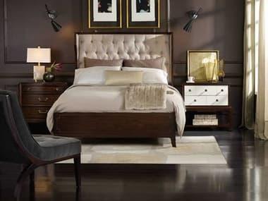 Hooker Furniture Palisade Upholstered Panel Bed Bedroom Set HOO518390850SET2