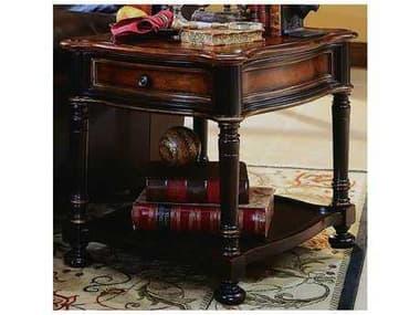 Hooker Furniture Preston Ridge Black 24''L x 28''W Rectangular End Table HOO86480113