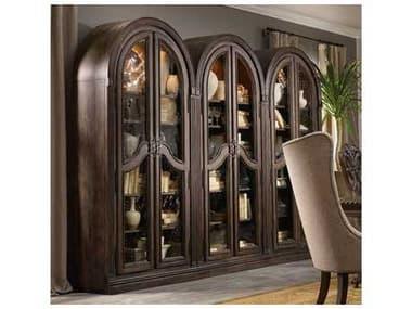 Hooker Furniture Rhapsody Rustic Walnut Bunching Curio HOO507050001