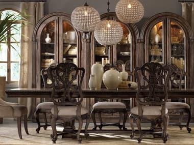 Hooker Furniture Rhapsody Rustic Walnut 88''L x 46''W Rectangular Dining Table HOO507075207