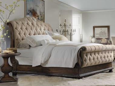Hooker Furniture Rhapsody Upholstered Sleigh Bed Bedroom Set HOO507090566SET
