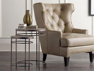 Hooker Furniture Saint Armand Light Wood 19'' Wide Round Nesting Table HOO560150001